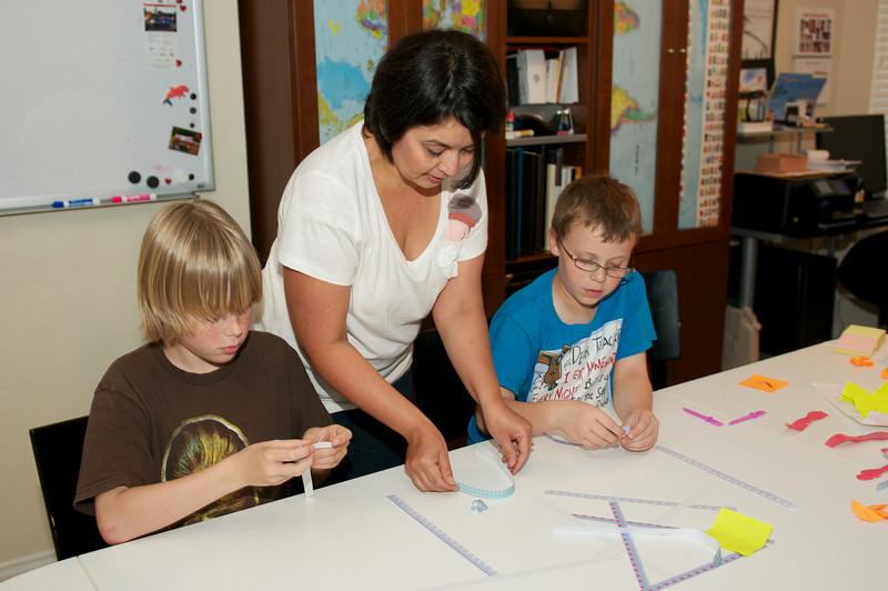 Origami teaching