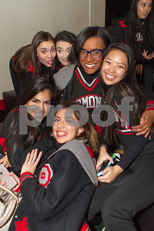 Varsity Poms Basketball Game & Senior Nite