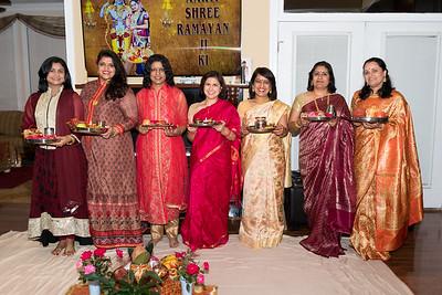 Karva Chauth at Lal's Home 10/27/18