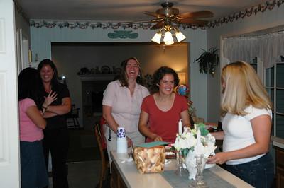 Tara's Surprise Birthday Party - August 27, 2006