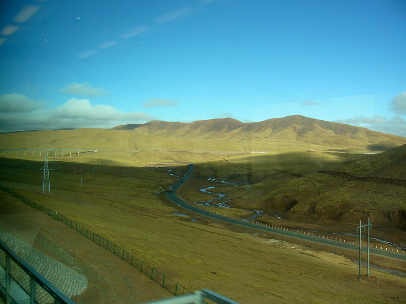 Qinghai -Beijing to Tibet Railway, Beijing to Lhasa  Oct  2006