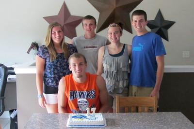 Ian's 17th Birthday