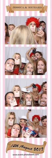 For Free Individual HD photos from Jessica and Richard's Wedding at How Caple Court, please download from  www.event-photobooth.com