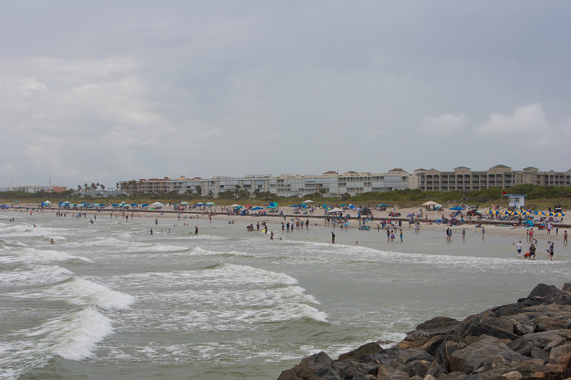 Beach before SpaceX CRS-22 launch