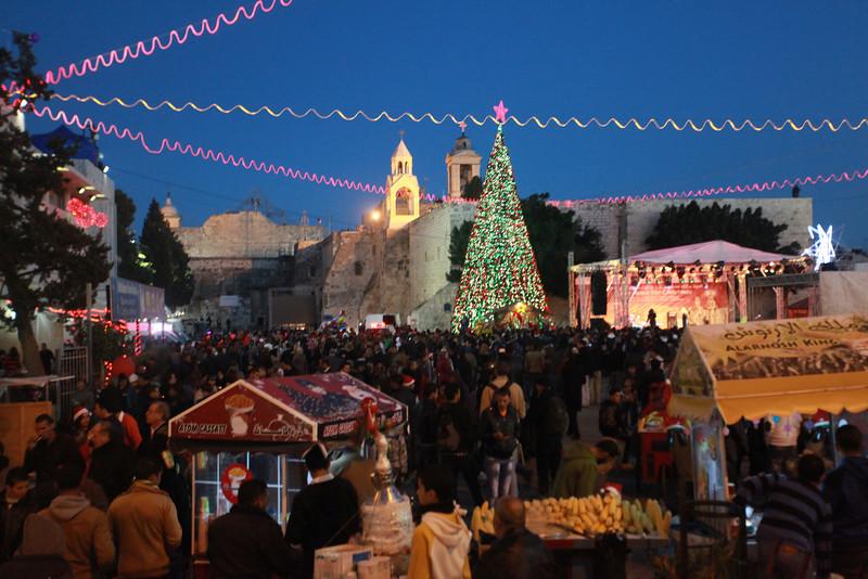 Christmas Eve Manger Square, Bethlehem
