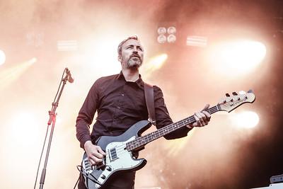 Skambankt performing at Norway Rock 2019