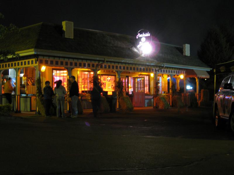 The Parkside Diner.