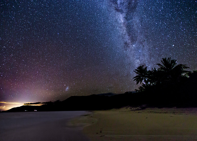 The Milky Way by the Coral Sea (6)