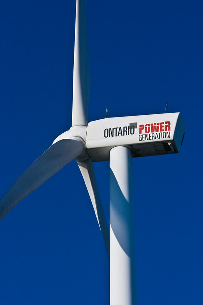Ontario Power Generation wind generator at Pickering Nuclear Power Plant 08.09.06