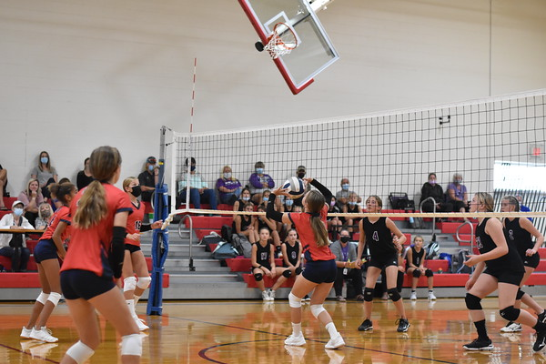 7th grade volleyball vs. Blair