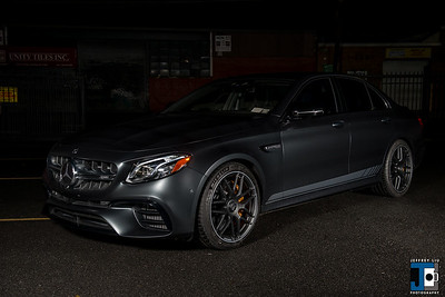 E63S AMG Crown Auto Matte Clear Black