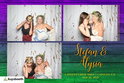 Alysia + Stefan - Photo Booth