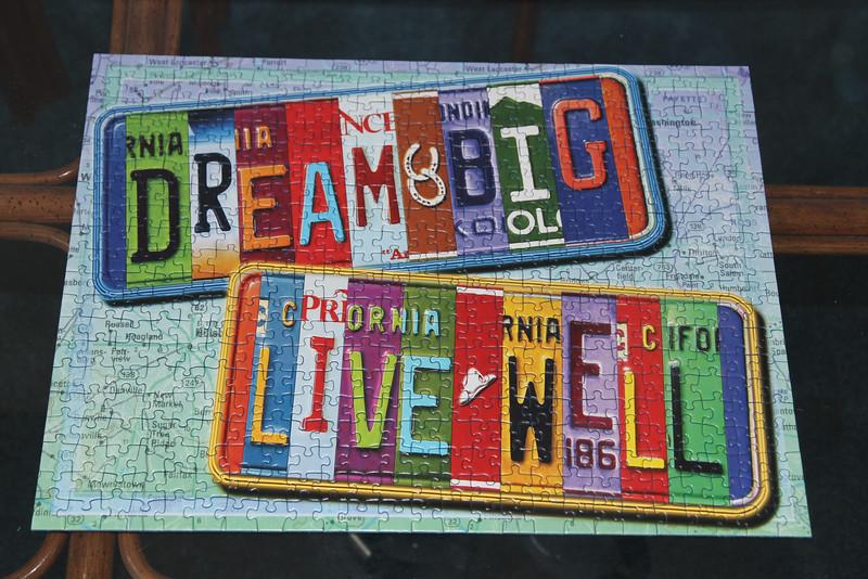 Dream/Live puzzle - Magnolias 2015