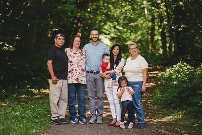 Christina & Family in Ireland