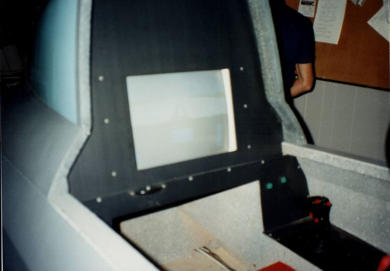 The F-16 simulator