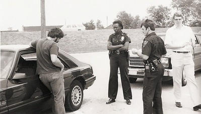 1982 Recruit Training Don Christ, Cindy campbell, Mark Norman, Bill Ownesby