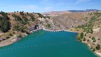 Kerr Dam in Polson, Montana