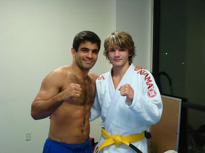"Vitor ""Shaolin"" Ribeiro comes to Hot Springs 08.01.2008"