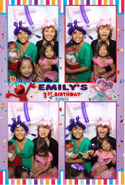 Emily's 1st Birthday Party (Luxe Photo Booth)