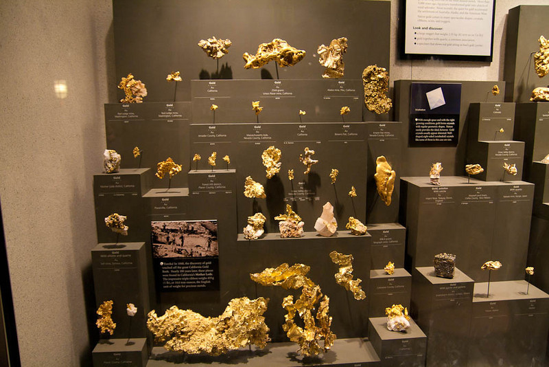 Look at the gold! Smithsonian Museum of Natural History