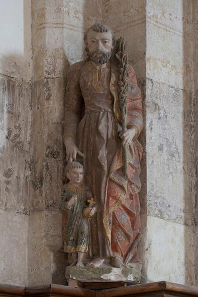 Chaource, Eglise Saint-Jean-Baptiste - Saiint-Joseph with Jesus