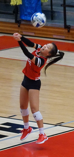 Volleyball vs HHigh Point 11/10