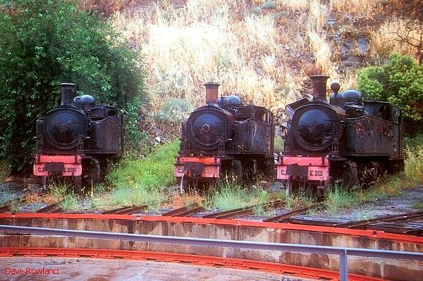 PORTUGAL: Dumped Steam at Regua 1991/92