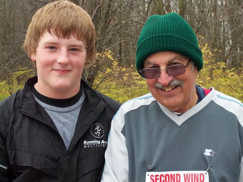 Kaleb and Granddad Stan Shobe