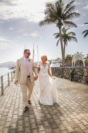 Susanne and Mateusz's wedding photography Lanzarote