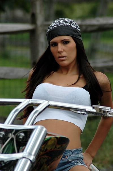 Michelle of Bikerpics.org @ Keystone Choppers, Inc - June 1, 2008 - Nikon D70 - Mark Teicher