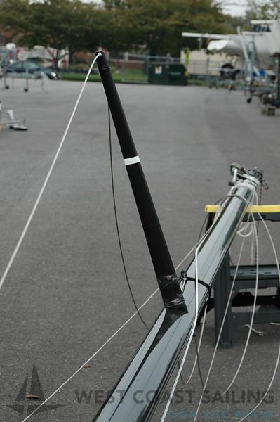Melges 24 USA 655 Sailboat Mast Photo Gallery