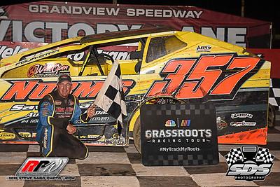 Grandview Speedway - 8/17/19 - Steve Sabo