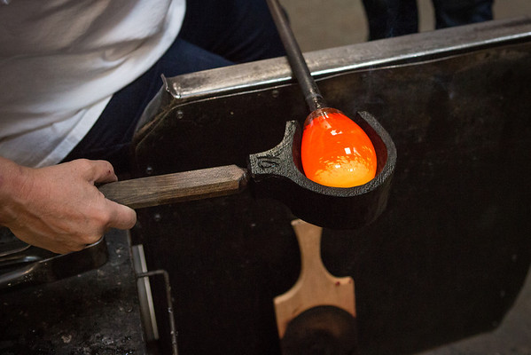 Glassblowing with Ben and Lori
