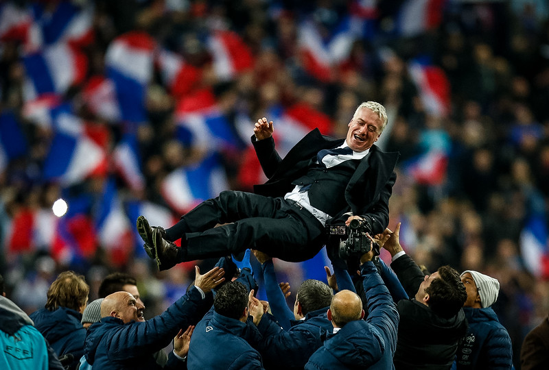 France v Ukraine - 2014 World Cup Qualifying European Zone Play-Off Second Leg