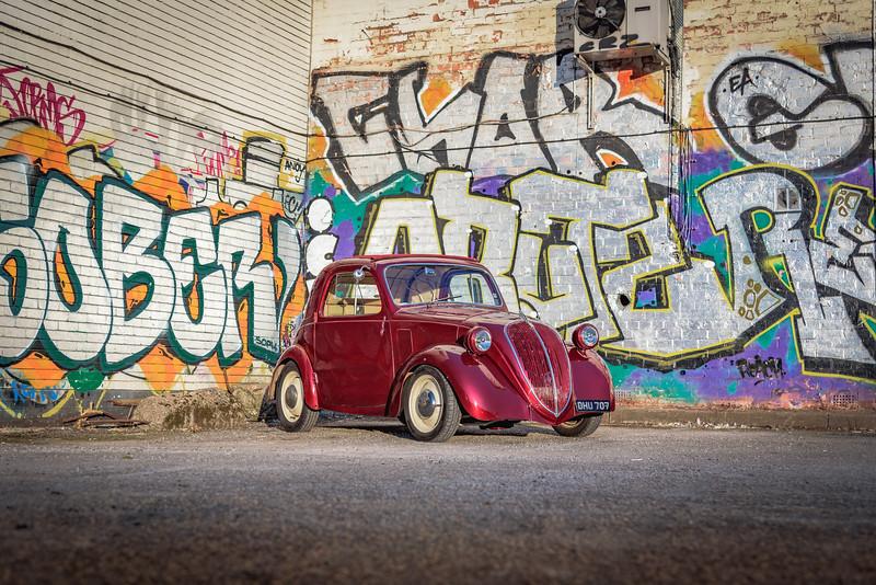 1937 Fiat Topolino hot rod