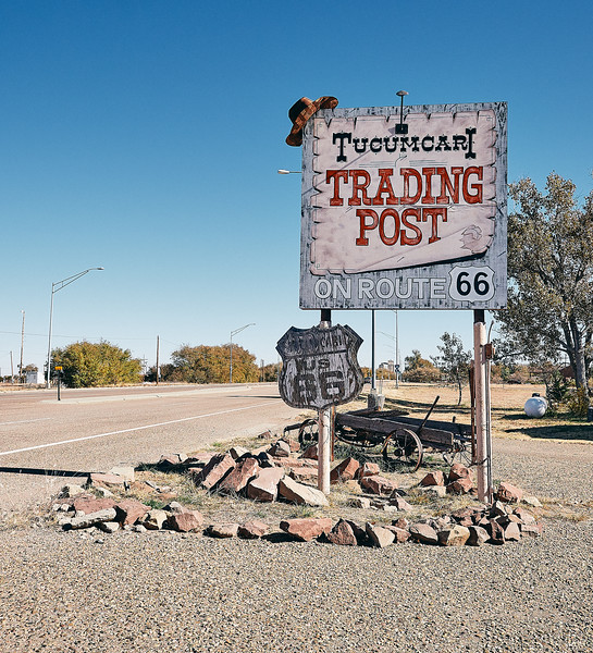 Route 66 - Trading Post, Tucumcari, New Mexico