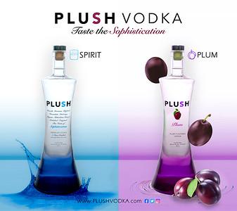 PLUSH Vodka Studio Shoot
