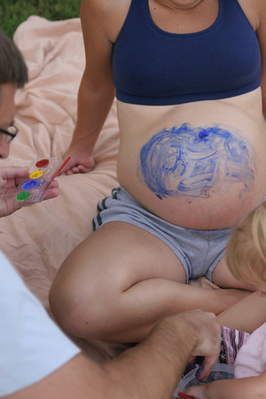 Belly Painting - June 5, 2007