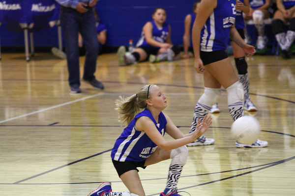 Lady Pioneers vs Dupont Panthers 10-22-14 (JV)
