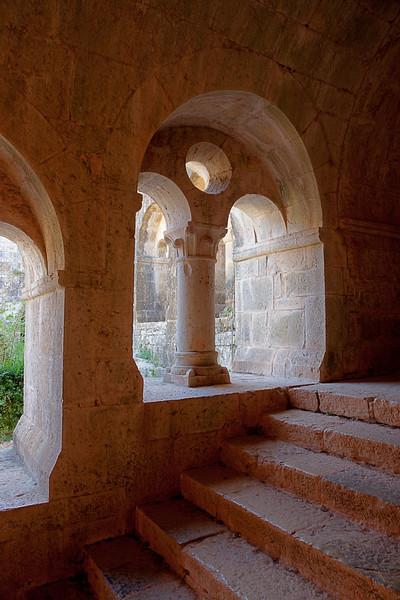 Le Thoronet Abbey Cloister Arch