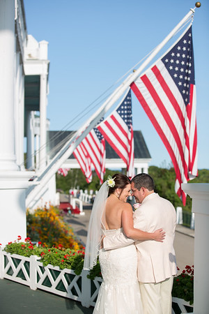 Grand Hotel Wedding Photography Mackinac Island, Michigan