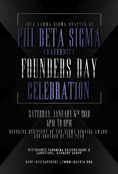 2018 Founders' Day Celebration