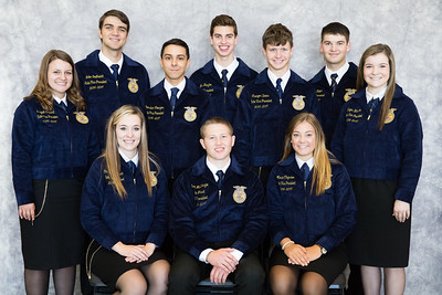 2017-2018 State Officer Photos