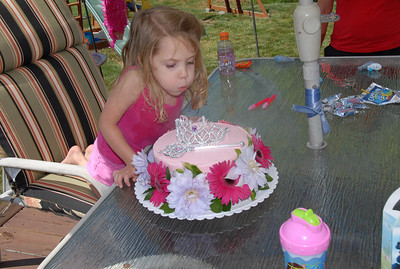 Mela's 4th Birthday