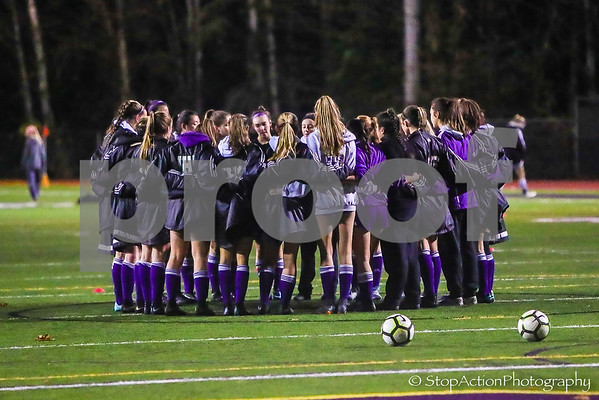 2018-11-10 Issaquah Girls Soccer vs Puyallup