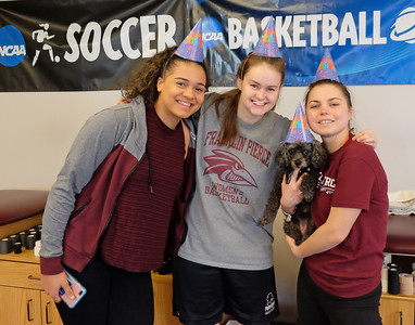 Athletic Training Room Therapy Dog Birthday 3-1-18