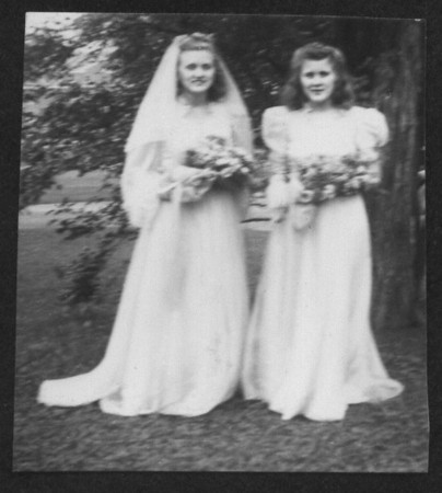 Velma and Lillian, Bridesmaids at Virginia's Wedding