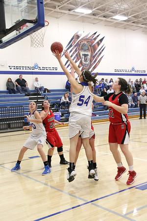 Girls Basketball, Harmony vs Danville 11/25/2014
