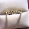 1.17ctw French Cut Diamond 7-Stone Band 11