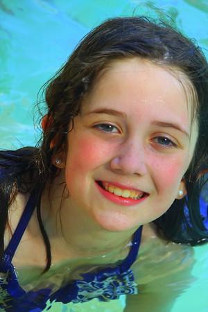 2017 Ivys first swim